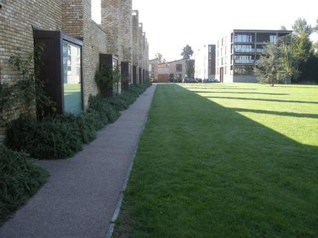 Accordia Cambridge Residential Development - Development Fronting Village Green
