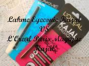 Lakme Eyeconic Kajal L'Oreal Paris Magique Review, Swatch EOTD