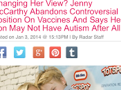Even Jenny McCarthy Believes Anymore!! {The Great Autism Flip-Flop}