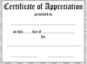 Fundraising Volunteer Appreciation Certificate