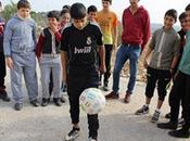 Palestinians Oppressed After Kicking Ball into Israel