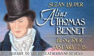 BLOG TOUR - ALIAS THOMAS BENNET BY SUZAN LAUDER