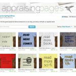 Grand Opening of The Appraising Pages Etsy Shop