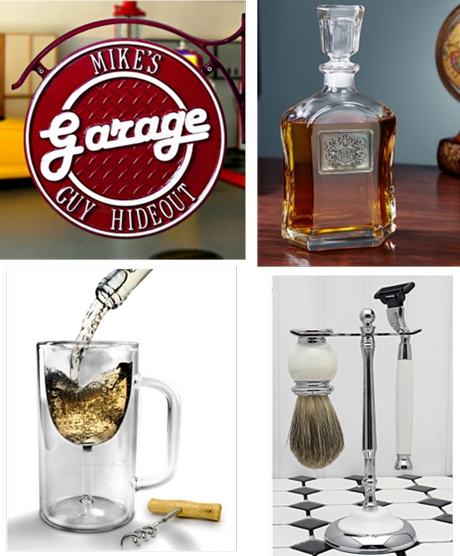 FOR HIM Argos Personalized Liquor Decanter, Dual-Sided Personalized ...