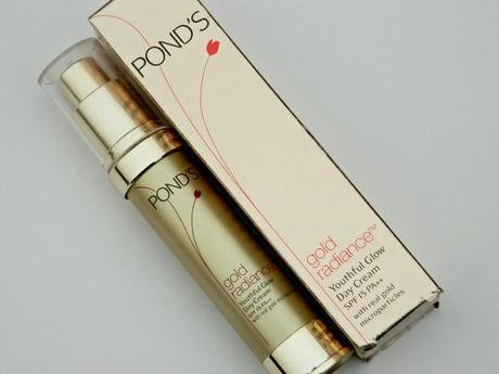 Pond's Gold Radiance Youthful Glow Day Cream Review