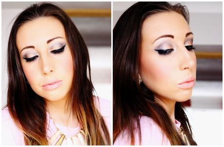 Gold Smokey Eye Look