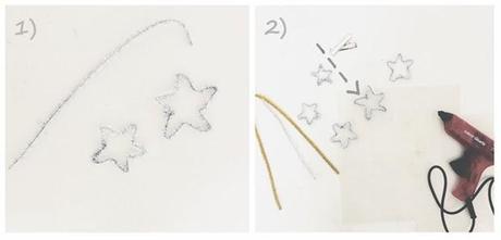 sparkling party crowns & headpiece DIY.