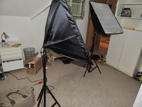 Studio Lighting Unboxing and Review.