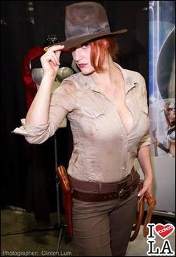 Abby Dark Star as Indy Jones (Photo by Irockedla.com)