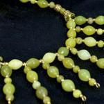 Handmade Peridot Statement Necklace