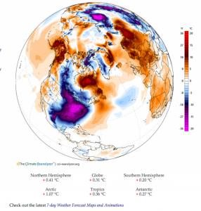 polar vortex with scale