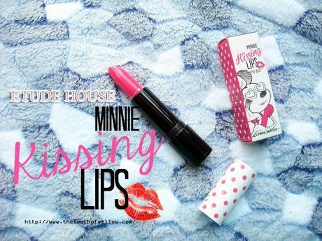 Etude House Minnie Kissing Lips Review