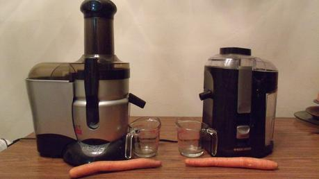 Juiced Up Juice Off! Bullet Express Juicer Vs. Black & Decker Juicer