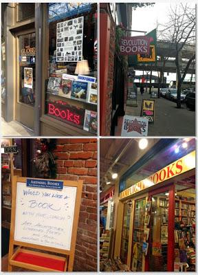 A Pacific Book Crawl: Victoria and Seattle