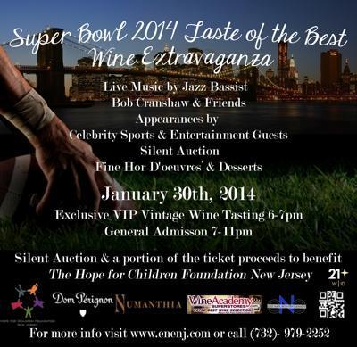 Taste of the Best Wine Extravaganza to Benefit Hope for Children Foundation