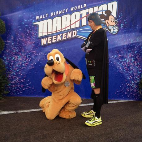 Day 2: DisneyGroom's #Dopey Challenge Weekend-  3.1 down and 45.5 to go!