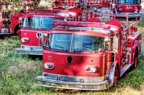 Graveyard of Fire Trucks