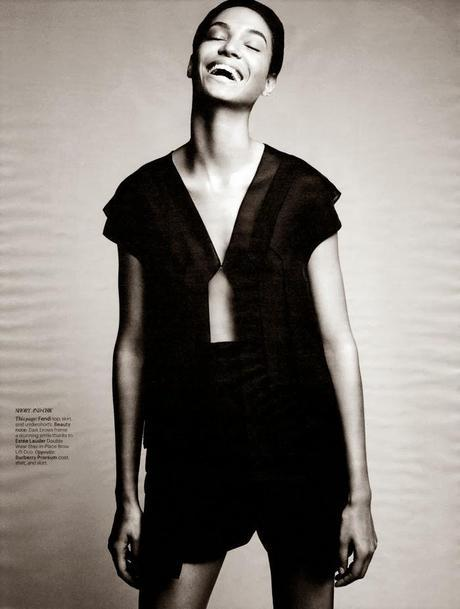 Editorial: Joan Smalls & Jourdan Dunn For W Magazine, Feb 2014