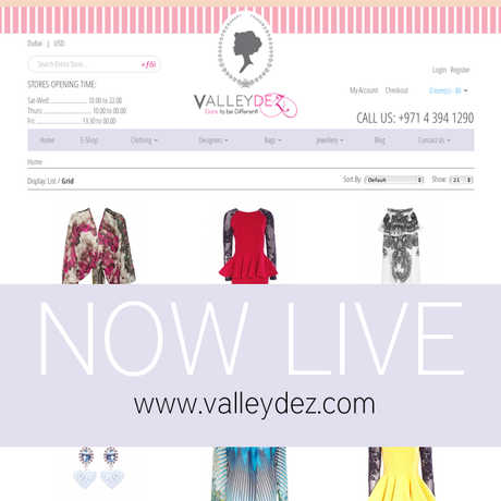 Shout Out Of The Day: Valleydez Launches E-Commerce Website