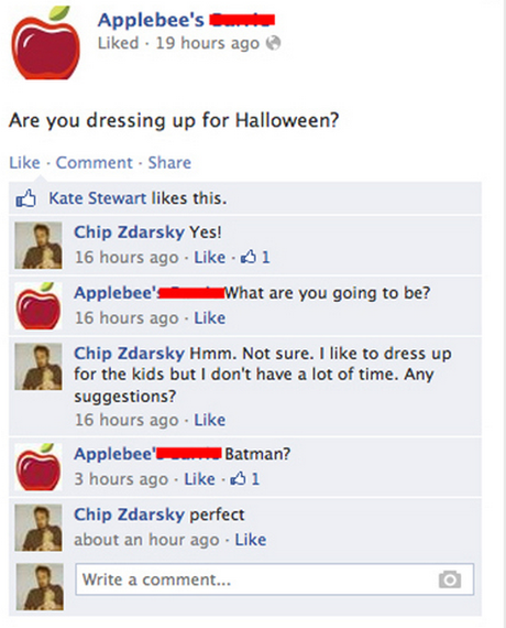 Applebees chats with Chip Zdarsky