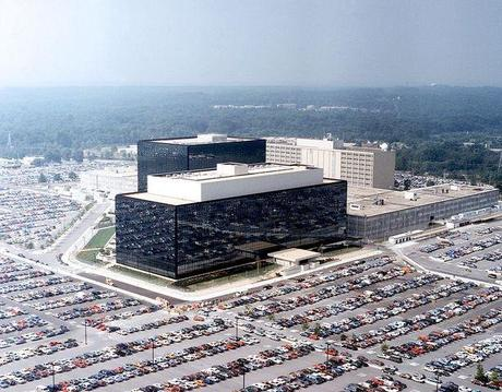 Headquarters of the NSA at Fort Meade, Md.