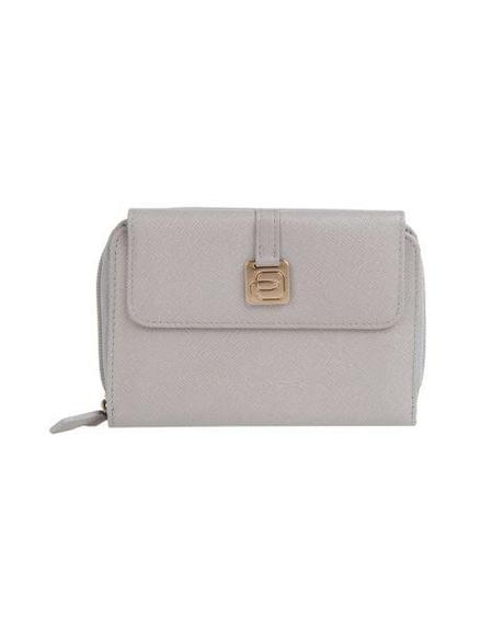 Piquadro White Leather Wallet