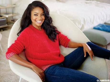 Editorial: Gabrielle Union For Glamour Magazine February 2014