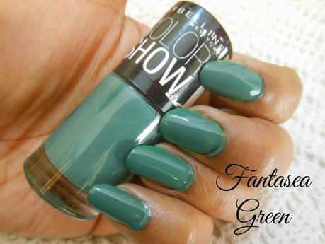 Maybelline Color Show Nail Color Swatches ~ Part 1