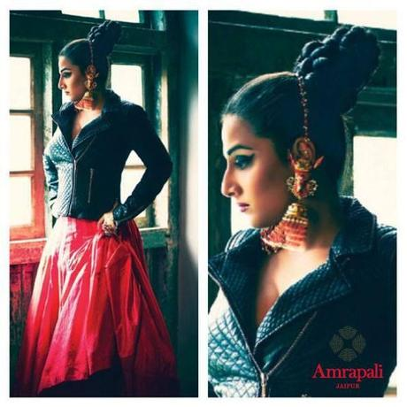 Vidya Balan in Manish Arora for Amrapali