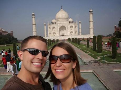 Living the Dream at the Taj Mahal