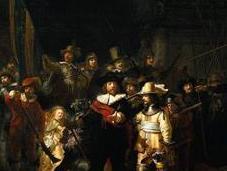 Flash Brings Rembrandt Life