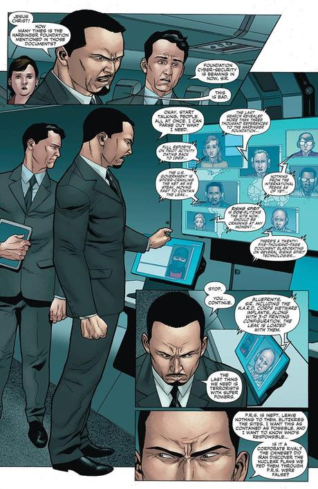 Valiant previews: Archer, Harbinger and Unity