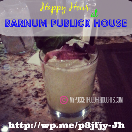happy hour at Barnum Publick House