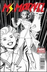 Ms. Marvel #1 Cover - Adams Sketch Variant