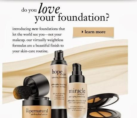 Philosophy Launches Foundations