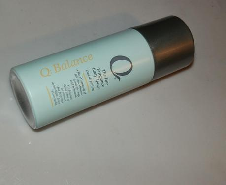 Q : Balance The Fine Fragrance Body Spray