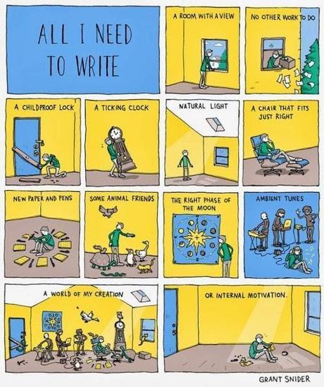 all I need to write comic