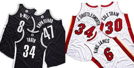 Wondering How You Can Get The Limited Edition Jerseys in Last Nights Miami VS Nets Game?!