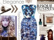 High Street Style:: Blue Elegance Blossoming Pansies