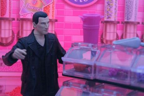 The Ninth Doctor in Sweet Factory