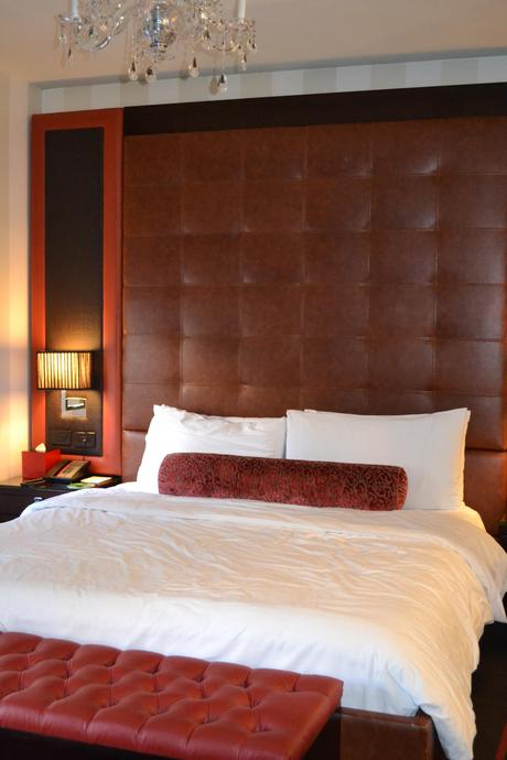 Deluxe King Bed at the Sanctuary Hotel in Times Square NYC