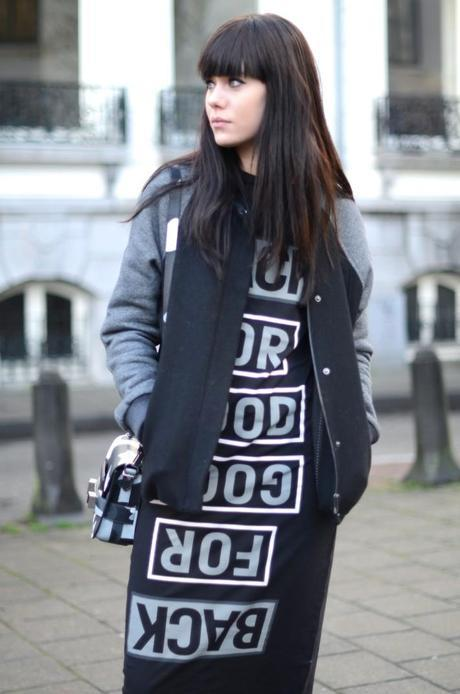back for good dress how to wear bomber