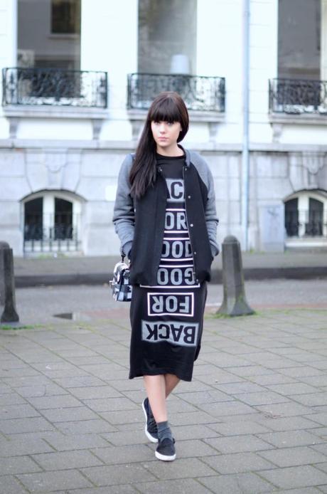 outfit midi shirt dress ann sofie back