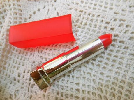 Maybelline Colorsensational Bold Matte Lipstick MAT4 ~ Review, Swatch and LOTD