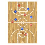 Basketball Coach Clipboard Play