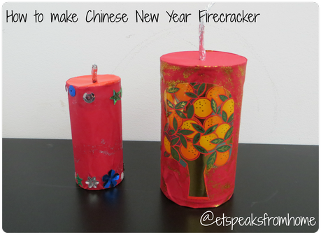 How to make Chinese New Year Firecracker #8