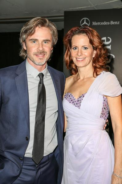 Sam Trammell and Missy Yaeger