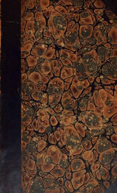 Endpapers from ancient manuscripts #marbleing endpaper #Pattern