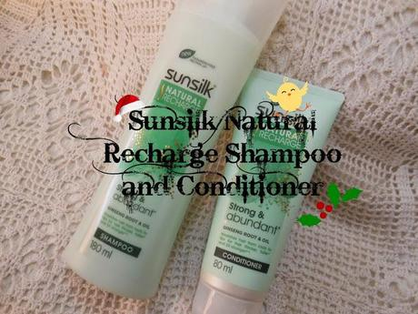 Currently Loving ~ NEW! Sunsilk Natural Recharge Shampoo + Conditioner (Strong & Abundant)
