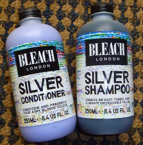 Bleach Shampoo and Conditioner